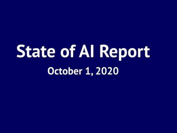 State of AI Report 2020
